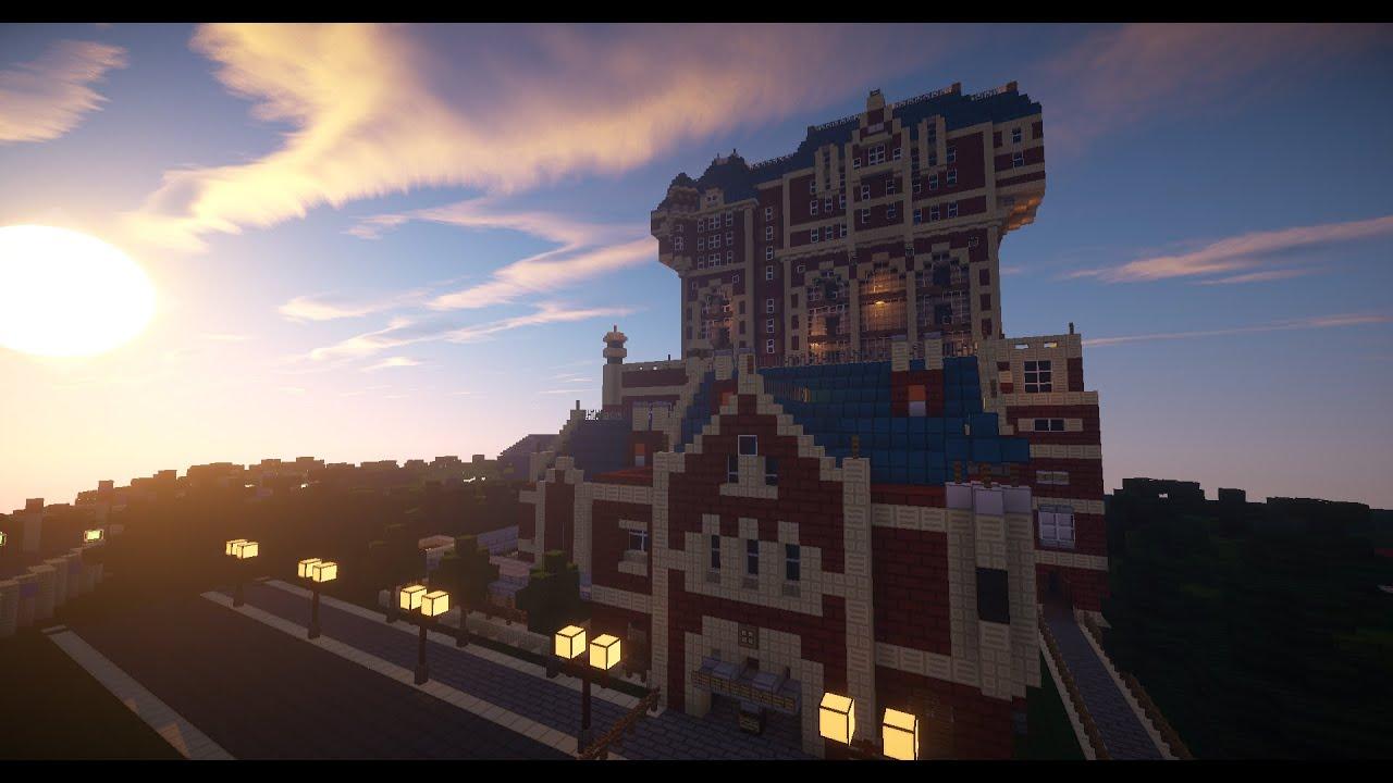 Minecraft Tower of Terror Tokyo