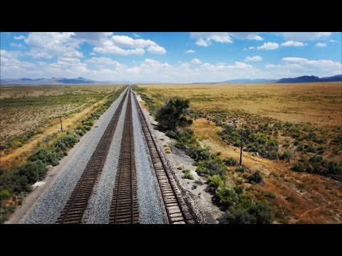 Drone Helps Find Forgotten Wild West Rail Road Stop