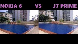 nokia 6 vs j7 prime camera test 2017