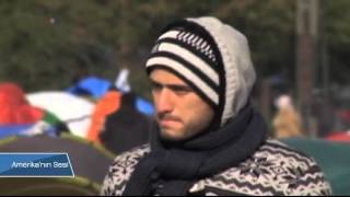 Yunanistan-Makedonya Sınırında Bekleyiş