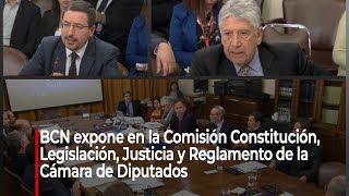 BCN expone ante comisión de diputados por proyecto de oficialidad para Ley Chile