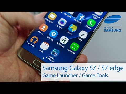 Samsung Galaxy S7 und Galaxy S7 edge Game Launcher und Game Tools ausprobiert 4k
