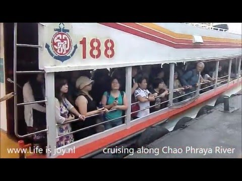 Thailand Bangkok travelreport with Skytrain, Tuk-tuk, boat etc to tourist attractions and malls L