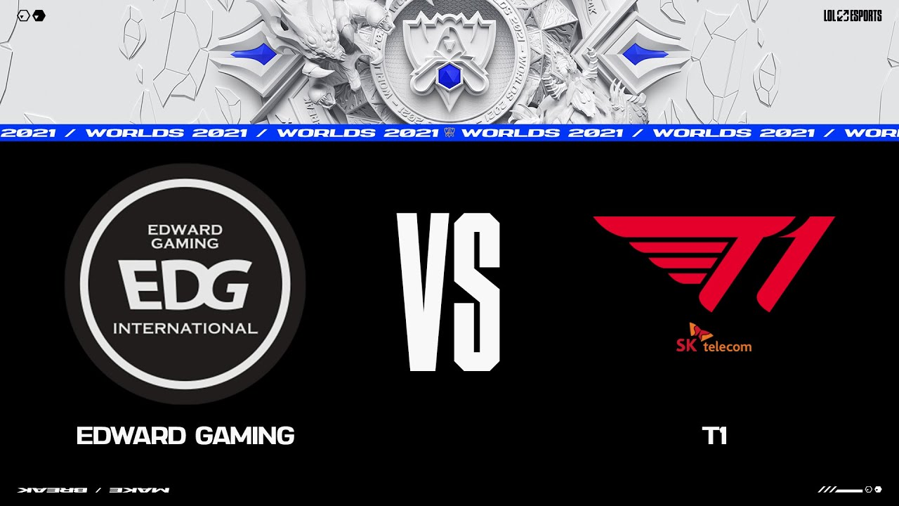Download EDG vs. T1   Worlds Group Stage Day 5   Edward Gaming vs. T1 (2021)