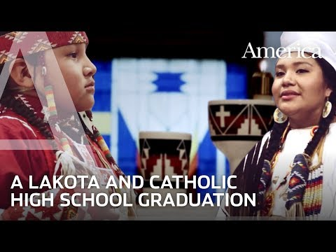 Jesuit and Lakota: Graduation at Red Cloud