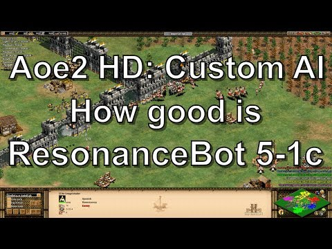 Aoe2: How Good is the ResonanceBot 5-1c Custom AI?