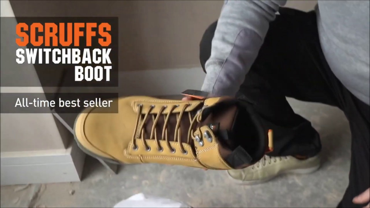 d7780e5a612 Scruffs T51449 Tan SWITCHBACK Safety Boot Size 10 UK 44 Euro