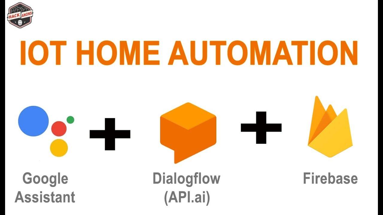 IOT with Firebase : Home Automation Light Control Using Google Assistant  Api ai Dialogflow Firebase