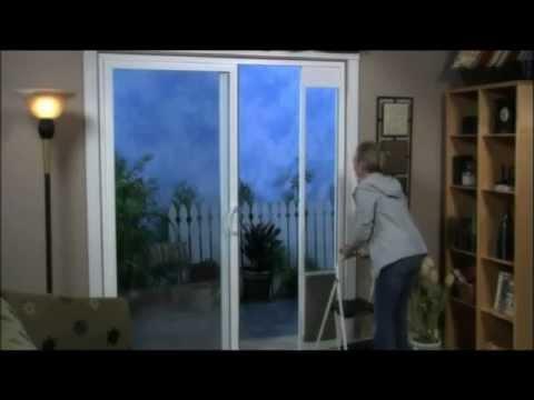 Deluxe Patio Panel Pet Door Youtube