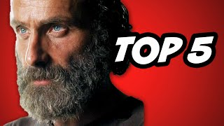 Walking Dead Season 5 Episode 12 - TOP 5 Alexandria Safe Zone WTF