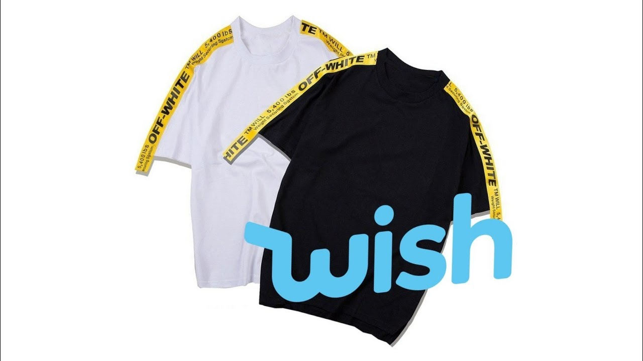 OFF WHITE T-SHIRT REPLICA FAKE - YouTube
