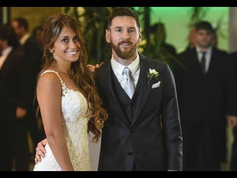 Star footballers celebrate Messi wedding in Argentina