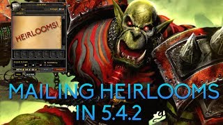 Mailing Heirlooms in 5.4.2