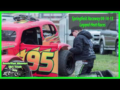 Legend Heat Races - Emergency Services Personnel Night - Springfield Raceway 04-14-2018