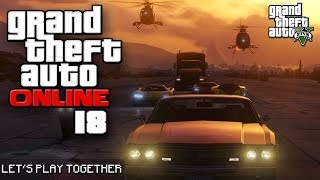 GTA ONLINE TOGETHER #018: Extremes Hangar-Massaker [LET'S PLAY GTA V]