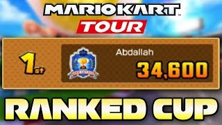 Mario Kart Tour - F2P 34,600 Points in RANKED Toad Cup | New York Tour Week 2