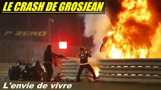L'ACCIDENT DE ROMAIN GROSJEAN