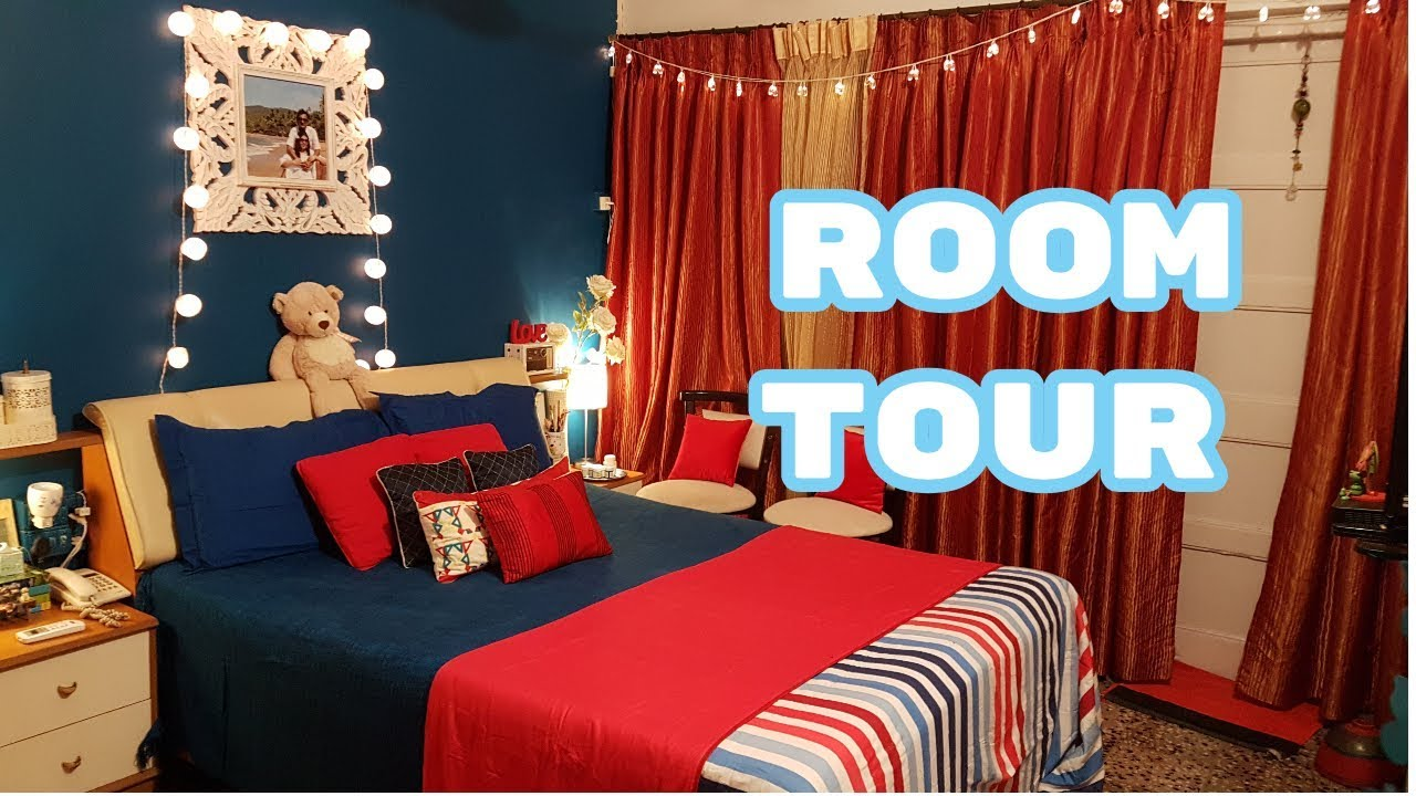 Room Tour 2017 | Indian Room Tour | Home Decor Vlog