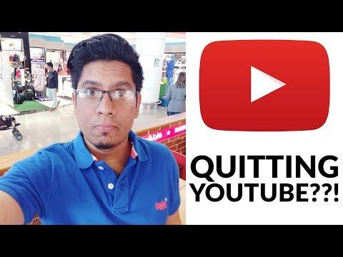 ഞാൻ യൂട്യൂബ് നിർത്തുന്നു? I am Quitting YouTube?   Sharique Samsudheen Channel Update