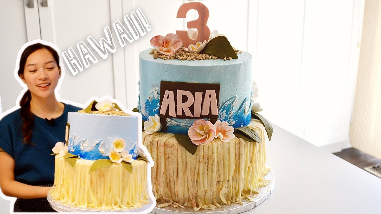 How To Make A Hawaii Themed Cake