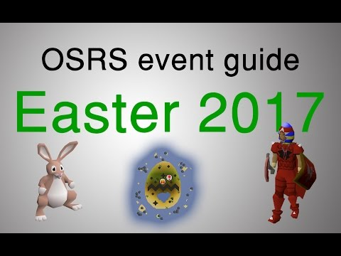 [OSRS] Easter 2017 event guide