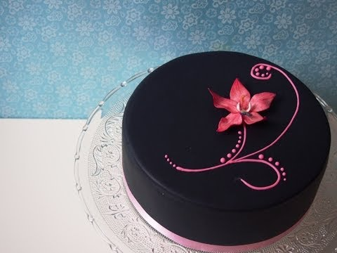 veganer fondant ohne gelatine fondant rezept fondant selber machen youtube. Black Bedroom Furniture Sets. Home Design Ideas