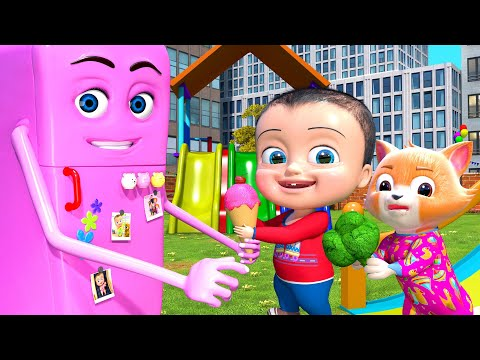 Do you like? - REFRIGERATOR Playground Songs for Kids | Nursery rhymes