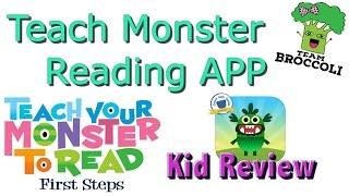 Teach Monster Reading APP | Kid Review | Ep:1021