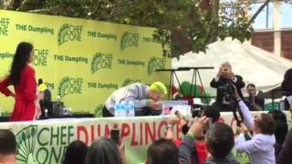 joey chestnut hot dog eating contest 2007