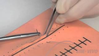 SIM SUTURE - 4. The Instrument Tie