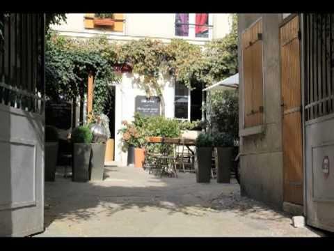 Villa Passy restaurant - La campagne en plein Paris