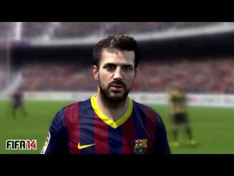 FIFA 14 vs PES 2014 - 3D Faces - Barcelona