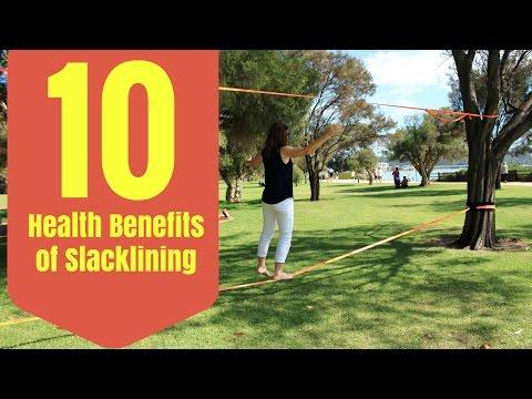 10 Health Benefits of Slacklining by Epic Slacklines