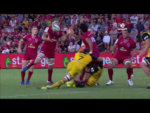 WEB 170402 RU SR HUR2017 Super Rugby Round 6: Reds v Hurricanes