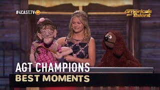 Darci Lynne: Edna's dreams finally came true once Simon Cowell gave her a smooch!