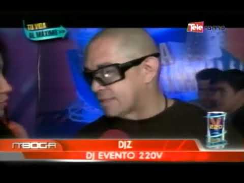 DJZ puso a bailar a los presentes lanzamiento 220V lata