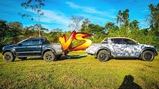CABO DE GUERRA: MINHA L200  VS RANGER