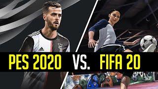 FIFA 20 vs. PES 2020: la sfida ha inizio!
