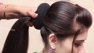 Easy Hairstyles for Wedding/Party   hair style girl    hairstyles for girls   cute hairstyles 2019