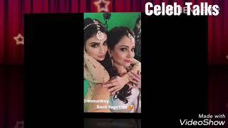 Mouni Roy & Adaa Khan Fun During Naagni 3 Promo || Celeb Talks||