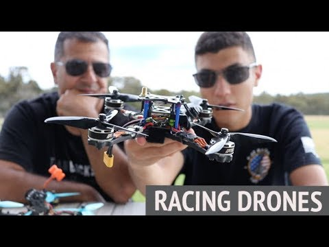 Racing Drones  Used at the MultiGP Rotor Riot International