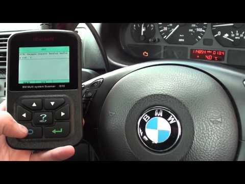 Repeat iCarsoft i910 BMW Check Engine Light Reset O2 Sensor Replace