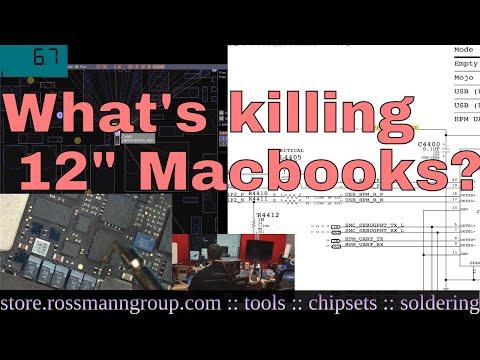 """APPLE'S NEXT RECALL: 12"""" 2015 A1534 Macbook logic board premature failure"""