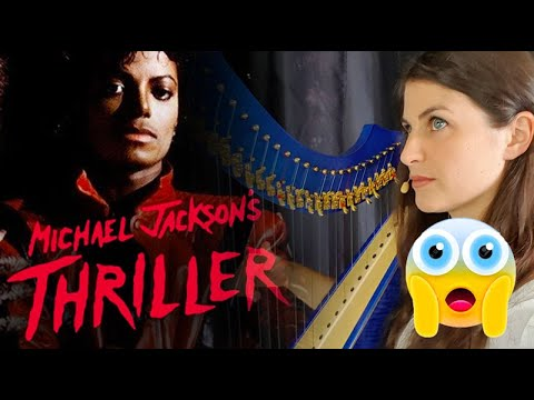 Thriller - Michael Jackson - Harp cover by Evélina Simon