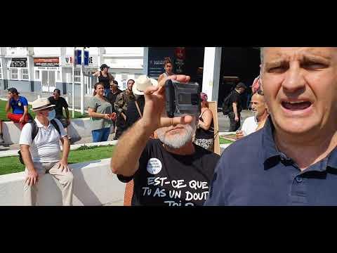 Yvan Benedetti à Toulon contre le Pass Sanitaire