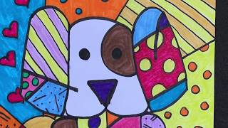 ART CLASS WITH MRS. D: NEO POP & ROMERO BRITTO