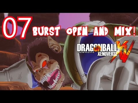 Dragon Ball Xenoverse Parallel Quest 07 Burst, Open and Mix! - Z-Rank, ALL OBJECTIVES