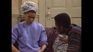 A Different World: 4x08 - Dwayne and Whitley discuss their relationship