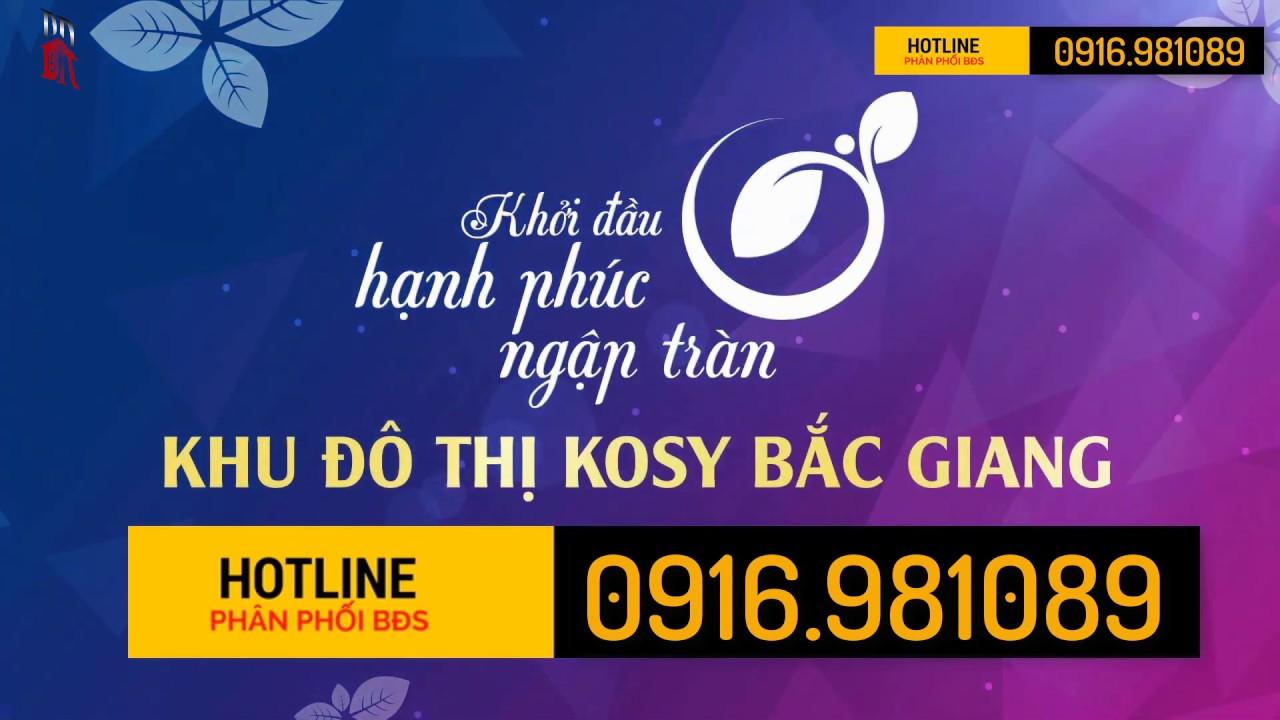 Kosy Bắc Giang – Giới thiệu dự án + Giá đất nền Kosy Bắc Giang. LH: 0916.981089
