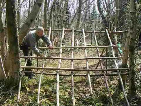 Bushcraft Survival Long Term Wilderness Shelter Part 3 Of
